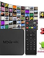 Недорогие -mxq 4k android 7.1 2.4g wifi dlna smart tv box rk3229 четырехъядерный процессор 1 г + 8 г телевизионная приставка медиа плеер