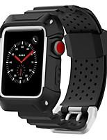Недорогие -прочный доспех&усилитель, усилитель; Tpe браслеты для Apple Watch серии 3 2 1 42 / 38мм