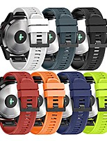 cheap -compatible with fenix 5 band easy fit 22mm width soft silicone watch strap replacement fenix 5/fenix 5 plus/forerunner 935/approach s60/quatix 5 - pack of 7
