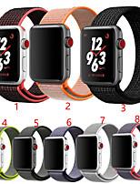 Недорогие -SmartWatch группа для Apple Watch серии 4/3/2 / 1Нейлон Weave Band Мода мягкий дышащий ремешок iwatch