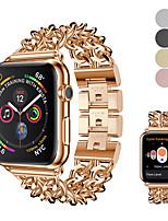 Недорогие -металлический браслет из нержавеющей стали ремешок на запястье ремешок на запястье для apple watch серии 4/3/2/1 браслет ремешок