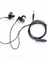 Недорогие -Litbest спортивные наушники SY-03, подключенные к уху, сильные басы с микрофоном с регулятором громкости, штекер 3,5 мм для мобильных телефонов.