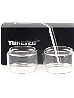 cheap -YUHETEC Replacement Bulb Glass Tube for dead rabbit RTA 4.5ml 2PCS