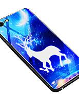 Недорогие -чехол для apple iphone 6 plus / iphone 6s противоударная задняя крышка для животных с твердым закаленным стеклом для iphone 6 plus / iphone 6s