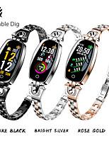 Недорогие -St08 умные часы женщины водонепроницаемый мониторинг артериального давления сердечного ритма bluetooth для android ios фитнес-браслет smar band