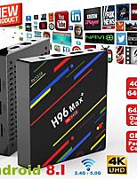 Недорогие -h96 max + android 8.1 тв бокс k17.6 hd умный сетевой медиаплеер