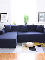 cheap -Pure Color Dustproof All-powerful Slipcovers Stretch Sofa Cover Super Soft Fabric Couch Cover with One Free Pillow Case