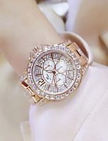 Недорогие -роскошные женские стальные пояса часы флэш-дрель горный хрусталь дизайн бизнес платье часы
