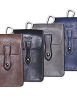 Недорогие -6-дюймовый чехол для универсального держателя карты талии сумка / талия сплошной цвет мягкая искусственная кожа