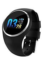 Недорогие -Q1 Мужчина женщина Смарт Часы Android iOS Bluetooth Водонепроницаемый Пульсомер Израсходовано калорий Хендс-фри звонки Smart ЭКГ + PPG