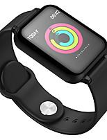 Недорогие -B57S умный ремешок 1.3-дюймовый цветной экран монитор артериального давления сердечного ритма ip67 водонепроницаемый спортивный ремешок для часов