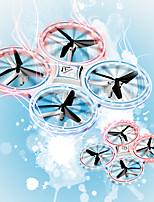 Недорогие -RC Дрон YC-002 Готов к полету 10.2 CM 2.4G 0 Квадкоптер на пульте управления Возврат Oдной Kнопкой / Авто-Взлет / Прямое Yправление Квадкоптер Hа пульте Yправления / Пульт Yправления / 1 USB