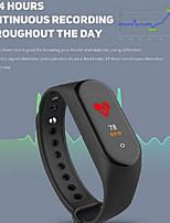 Недорогие -M4 умный браслет часы сердечного ритма артериальное давление упражнения шаг Bluetooth водонепроницаемый