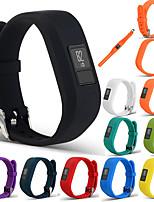Недорогие -спортивный силиконовый браслет ремешок для браслета для garmin vivofit младший