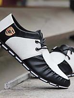 abordables -Homme Chaussures de nouveauté Polyuréthane Printemps été / Automne hiver Sportif / Preppy Basket Course à Pied / Marche Chaud Noir / Noir et blanc / Blanche