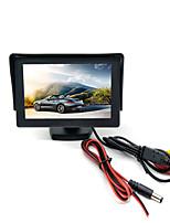 Недорогие -x01 4,3-дюймовый жк-экран 4,3-дюймовый автомобильный реверсивный ЖК-экран / многофункциональный дисплей для автомобиля