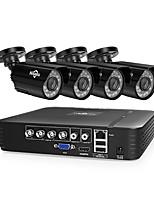 Недорогие -4h 1080p камера 2.0-мегапиксельная видеокамера с жестким диском видеорегистратор DVR комплект ахд водонепроницаемая камера