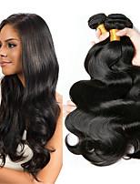 Недорогие -6 Связок Бразильские волосы Естественные кудри 100% Remy Hair Weave Bundles Человека ткет Волосы Пучок волос One Pack Solution 8-28 дюймовый Естественный цвет Ткет человеческих волос / Без запаха