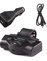 Недорогие -руль bluetooth громкая связь громкая связь автомобильные комплекты mp3 плеер для iphone samsung и смартфонов черный