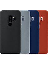 Недорогие -Кейс для Назначение SSamsung Galaxy S9 / S9 Plus / S8 Plus Защита от удара Кейс на заднюю панель Однотонный Твердый Металл