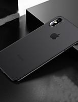 Недорогие -чехол для apple iphone 7 / iphone 8 / iphone xs матовая задняя крышка сплошной цветной твердый силикагель для iphone 7 / iphone 7 plus / iphone 8 / iphone 8 plus / iphone x / iphone xr / iphone xs /