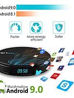 Недорогие -hk1max android 9.0 2.4g / 5g wifi bt 4.0 rk3328 четырехъядерный процессор 4k 1080p full hd умная телевизионная приставка