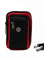 Недорогие -6,3-дюймовый чехол для универсальной карты держателя сумка сплошной цвет мягкий нейлон / полиэстер