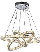 Недорогие -светодиодные хрустальные подвесные светильники потолочные люстры светильники подвесные светильники для столовой гостиной отеля дома 110-120 В / 220-240 В