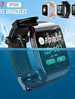 Недорогие -KY117 Smart Band Фитнес-трекер IP68 водонепроницаемый монитор сердечного ритма артериального давления многофункциональный спортивный режим Full Touch часы