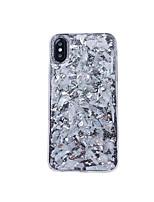 Недорогие -чехол для apple iphone xs max / iphone 8 plus блестящий блеск / противоударный / пылезащитный задняя крышка блеск блеск мягкий тпу для iphone 7/7 plus / 8/6/6 plus / xr / x / xs