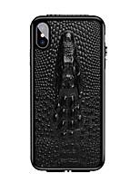 Недорогие -чехол для яблока iphone 6 / iphone xs max противоударная задняя крышка сплошная твердая натуральная кожа для iphone 6 / iphone 6 plus / iphone 6s