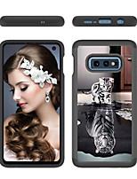 Недорогие -Кейс для Назначение SSamsung Galaxy S9 / S9 Plus / S8 Plus С узором Кейс на заднюю панель Кот Твердый ПК