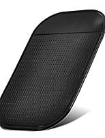 Недорогие -липкая автомобильная накладка для мобильного телефона с антискользящим покрытием черного цвета