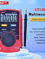 Недорогие -uni-t ut120a цифровой мультиметр портативный цифровой дисплей мини-дизайн для проверки автомобилей