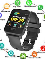 Недорогие -E33 умные часы с монитором сердечного ритма ЭКГ артериальное давление ip67 водонепроницаемый фитнес-трекер Wrisatband Спорт SmartWatch