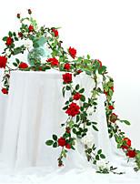 Недорогие -Искусственные Цветы 10 Филиал Классический Современный современный Розы Цветы на стену