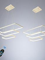 Недорогие -Ecolight 2 шт. / лот led100w линейный подвесной свет окружающего света для столовой гостиной регулируемый затемнения 110-120 В / 220-240 В теплый белый / белый / Wi-Fi Smart