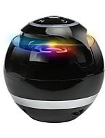 Недорогие -Мини портативный динамик gs009 со светодиодной вспышкой mp3-плеер Bluetooth для беспроводной поддержки aux / tf / fm