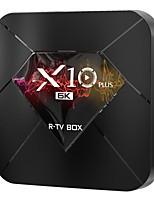 Недорогие -x10 plus TV Box Android 9.0 4 ГБ 64 ГБ Allwinner четырехъядерный WIF