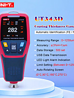Недорогие -измеритель толщины измеритель толщины ut343d цифровой измеритель толщины толщиномер автомобильный детектор автомобильное покрытие метр краски автомобиля