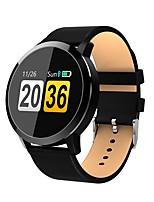 Недорогие -Q8 умные часы Oled цветной экран мужчины мода фитнес-трекер сердечного ритма артериального давления кислорода SmartWatch