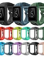 Недорогие -Ремешок для часов для TomTom Touch / TomTom Adventurer / TomTom Golfer 2 TomTom Классическая застежка силиконовый Повязка на запястье