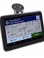 Недорогие -7-дюймовый Android GPS навигация Автомобильный видеорегистратор Wi-Fi AV-Bluetooth передатчик FM связка бесплатно последние карты