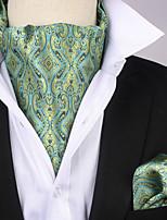 Недорогие -Муж. Для офиса / Классический Платок / аскотский галстук Жаккард
