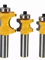 Недорогие -Сверло-резак rb24 22.2 / 25.4 / 35 мм 1/2 дюйма твердосплавный хвостовик фреза долото деревообрабатывающий инструмент резьба инструмент