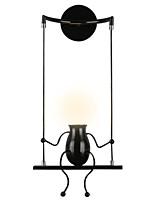 Недорогие -Милый Современный современный Настенные светильники Спальня / Столовая Металл настенный светильник 110-120Вольт / 220-240Вольт 40 W
