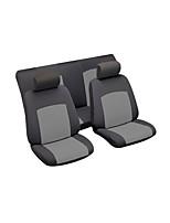 Недорогие -litbest автомобильные чехлы на сиденья универсальные чехлы на все годы черный серый пять мест