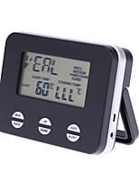 Недорогие -пищевой термометр кухня барбекю датчик тревоги выпечки сахар цифровой пищевой термометр