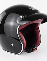 Недорогие -винтажный стиль лето мотоцикл ретро половина шлем крейсер 3/4 с открытым лицом скутер протектор головы