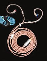 Недорогие -litbest rc-mmcx-25bbr монокристалл высокой чистоты, покрытый медью, с разъемом mmcx и наушниками со сбалансированным штекером 2,5 мм для музыкантов для наушников shure se215 / se315 / se425 / se535 /
